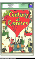 Golden Age (1938-1955):Humor, Century of Comics #1 (Eastern Color, 1933) Qualified GD- 1.8 Off-white pages. This lot is a true piece of history. In all li...