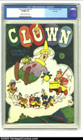 Golden Age (1938-1955):Cartoon Character, Clown Comics #1 File Copy (Harvey, 1945) CGC VF/NM 9.0 Cream to off-white pages. Think you've got the most complete Harvey c...