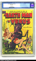 Golden Age (1938-1955):Science Fiction, Earth Man on Venus #nn (Avon, 1951) CGC VF+ 8.5 Off-white pages.The stylish Wally Wood contributed story art to this fantas...