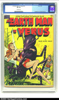 "Golden Age (1938-1955):Science Fiction, Earth Man on Venus #nn (Avon, 1951) CGC FN 6.0 Off-white pages.Gene Fawcette's cover on this ""scarce"" issue is one of his b..."