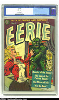 Golden Age (1938-1955):Horror, Eerie #3 (Avon, 1951) CGC FN- 5.5 Off-white pages. After seeingjust a few Wally Wood covers, you too can become an expert a...