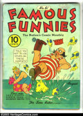 Golden Age (1938-1955):Cartoon Character, Famous Funnies Group (Eastern Color, 1939). Here's an interesting group that contains early and seldom-seen artwork by Jack ... (Total: 10 Comic Books Item)