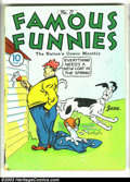 Golden Age (1938-1955):Cartoon Character, Famous Funnies Group (Eastern Color, 1940). Here's a nice run of attractive mid-grade issues with early and somewhat obscure... (Total: 10 Comic Books Item)