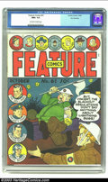 Golden Age (1938-1955):Superhero, Feature Comics #61 San Francisco pedigree (Quality, 1942) CGC NM+ 9.6 Off-white to white pages. The series started in 1937, ...