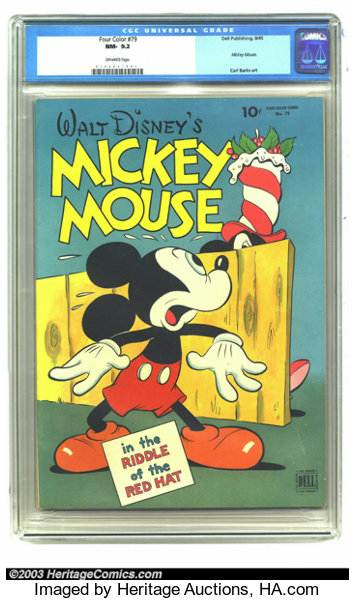 Four Color  79 Mickey Mouse in
