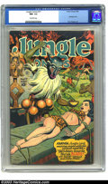 Golden Age (1938-1955):Adventure, Jungle Comics #77 (Fiction House, 1946) CGC NM- 9.2 Off-white pages. Fiction House was at the forefront when it came to hot,...