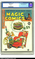 Golden Age (1938-1955):Adventure, Magic Comics #41 Mile High pedigree (David McKay Publications, 1942) CGC NM+ 9.6 White pages. More fun from the Bumstead fam...