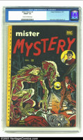 Golden Age (1938-1955):Horror, Mister Mystery #2 (Aragon Magazines, Inc., 1951) CGC FN/VF 7.0Cream to off-white pages. CGC hasn't certified many copies of...