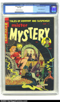 Golden Age (1938-1955):Horror, Mister Mystery #6 (Aragon Magazines, Inc., 1952) CGC VF 8.0Off-white to white pages. This Mortellaro cover is one of the al...
