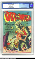 Golden Age (1938-1955):Science Fiction, Out of This World #1 (Avon, 1950) CGC FN/VF 7.0 Cream to off-whitepages. Gene Fawcette did some nice pre-Code sci-fi and ho...