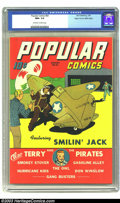 Golden Age (1938-1955):Cartoon Character, Popular Comics #83 Mile High pedigree (Dell, 1943) CGC NM+ 9.6 Off-white to white pages. As one of the major publishers of c...
