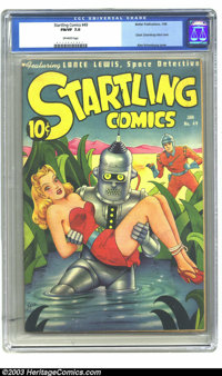 Startling Comics #49 (Better Publications, 1948) CGC FN/VF 7.0 Off-white pages. What collector hasn't seen this classic...