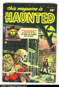 Golden Age (1938-1955):Horror, This Magazine Is Haunted #4 Bethlehem pedigree (Fawcett, 1952)Condition: VF/NM. This pedigree copy easily outshines the hig...
