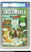 Golden Age (1938-1955):Crime, Underworld #2 (D.S. Publishing, 1948) CGC VF+ 8.5 Off-white pages. Any book that was used in Seduction of the Innocent r...