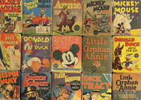 Various Titles Big Little Books Group of over 60 different (Whitman Publishing Co., 1930s-1950s) Condition: Averages GD...
