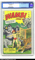 Golden Age (1938-1955):Adventure, Wambi the Jungle Boy #5 (Fiction House, 1949) CGC NM+ 9.6 Cream to off-white pages. Here is a startlingly brilliant copy tha...