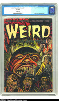 Golden Age (1938-1955):Horror, Weird Tales of the Future #7 (Aragon, 1953) CGC FN- 5.5 Off-whitepages. The damned demons of hell march in single file, out...