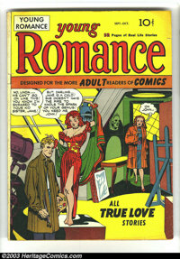 Young Romance Comics Group of 80 (Prize, 1947-1960). This group contains every issue of this title that contains artwork...