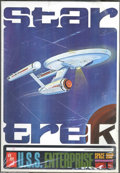 "Memorabilia:Science Fiction, Star Trek Model Kit, ""U.S.S. Enterprise"" (AMT, 1966). The king of science fiction model kits, this is the first issue of the..."
