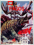 Memorabilia:Science Fiction, Ultraman Model Kit - Monster Pagos (UPC, 1960s). Highly coveted by Ultraman collectors, this is one of a series of model kit...