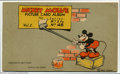 Memorabilia:Miscellaneous, Mickey Mouse Picture Card Album V1 (Walt Disney Productions, 1935) Condition: VF+. The 1935 Mickey Mouse bubble gum cards ar...