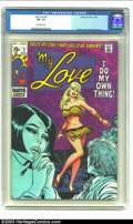 Silver Age (1956-1969):Romance, My Love #2 Stan Lee File Copy (Marvel, 1969) CGC VF- 7.5 Off-white pages. One of the great things about this title (and ther...