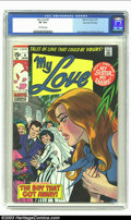 Bronze Age (1970-1979):Romance, My Love #4 Stan Lee File Copy (Marvel, 1970) CGC VF 8.0 Off-whitepages. More heart-wrenching drama from Stan Lee and Associ...