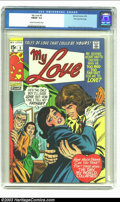 Bronze Age (1970-1979):Romance, My Love #5 Stan Lee File Copy (Marvel, 1970) CGC FN/VF 7.0 Cream tooff-white pages. Ah, the '70s! The hair! The leisure sui...