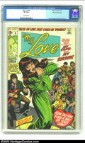 Bronze Age (1970-1979):Romance, My Love #6 Stan Lee File Copy (Marvel, 1970) CGC VF 8.0 Off-whitepages. You can tell that macho Stan didn't read and re-rea...