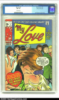 "Bronze Age (1970-1979):Romance, My Love #7 Stan Lee File Copy (Marvel, 1970) CGC FN 6.0 Off-whitepages. Sign of the times: ""Wow! Your hair is beautiful! An..."