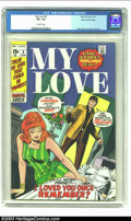 Bronze Age (1970-1979):Romance, My Love (2nd series) #9 Stan Lee File Copy (Marvel, 1971) CGC VF+8.5 Off-white pages. Some of Marvel's best artists expande...