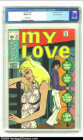 Bronze Age (1970-1979):Romance, My Love (2nd series) #12 Stan Lee File Copy (Marvel, 1971) CGCFN/VF 7.0 Off-white pages. More romance and lies and kissin' ...