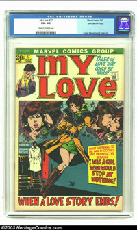 My Love (2nd series) #17 Stan Lee File Copy (Marvel, 1972) CGC FN+ 6.5 Cream to off-white pages. George Tuska, Mike Seko...