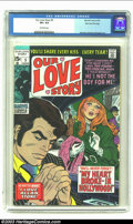 Bronze Age (1970-1979):Romance, Our Love Story #5 Stan Lee File Copy (Marvel, 1970) CGC VF+ 8.5Off-white pages. Jim Steranko's art makes this the most valu...