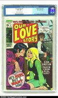 Bronze Age (1970-1979):Romance, Our Love Story #6 Stan Lee File Copy (Marvel, 1970) CGC VF+ 8.5Cream to off-white pages. One of the nicer copies of this ti...