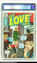 Bronze Age (1970-1979):Romance, Our Love Story #11 Stan Lee File Copy (Marvel, 1971) CGC VF 8.0Cream to off-white pages. John Romita offers cover and inter...
