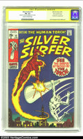 Bronze Age (1970-1979):Superhero, The Silver Surfer #15 Stan Lee File Copy (Marvel, 1970) CGC FN- 5.5 Cream to off-white pages. Signature Series. In classic J...