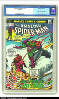Bronze Age (1970-1979):Superhero, Amazing Spider-Man #122 (Marvel, 1973) CGC NM 9.4 White pages. JohnRomita Sr. and Gil Kane combine their artistic talents f...