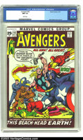 Bronze Age (1970-1979):Superhero, The Avengers #93 (Marvel, 1971) CGC NM 9.4 White pages. Here's a sharp copy of a great book. Neal Adams revolutionized the c...
