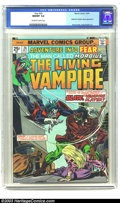 Bronze Age (1970-1979):Horror, Fear #24 (Marvel, 1974) CGC NM/MT 9.8 Off-white to white pages. AMorbius The Living Vampire issue, featuring Blade, the Vam...