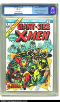 Bronze Age (1970-1979):Superhero, Giant-Size X-Men #1 (Marvel, 1975) CGC NM 9.4 Off-white to whitepages. What can we say about this landmark comic that hasn'...