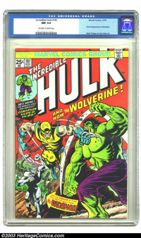 The Incredible Hulk #181 (Marvel, 1974) CGC NM 9.4 Off-white to white pages. Few characters from the Bronze Age have had...