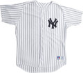 Baseball Collectibles:Uniforms, Circa 2002 David Wells Game Worn Jersey. With 237 career victories at the time of writing, Boomer finds himself tied with H...