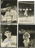 """Autographs:Photos, Hall of Famers Signed Photographs Lot of 8. Attractive selection ofblack and white 5x7"""" photos feature 10/10 blue sharpie ..."""