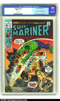 Bronze Age (1970-1979):Superhero, The Sub-Mariner #34 (Marvel, 1971) CGC NM+ 9.6 White pages. SalBuscema and Jim Mooney render the art for this issue which h...