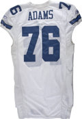 "Football Collectibles:Uniforms, 2006 Flozell Adams Game Worn Jersey. Massive offensive lineman Flozell Adams has been given the nickname ""The Hotel"" for hi..."