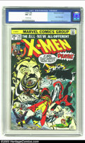 Bronze Age (1970-1979):Superhero, X-Men #94 (Marvel, 1975) CGC NM+ 9.6 Off-white pages. The originalX-Men series had languished in popularity, finally reduce...