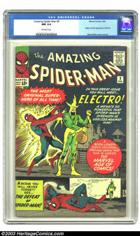 Amazing Spider-Man #9 (Marvel, 1964) CGC NM 9.4 Off-white pages. This high-grade beauty has a perfect spine, superior pa...
