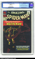 Silver Age (1956-1969):Superhero, Amazing Spider-Man #28 (Marvel, 1965) CGC NM 9.4 Off-white to whitepages. All you Spidey collectors know how hard it is to ...