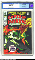 Silver Age (1956-1969):Superhero, Captain Marvel #2 (Marvel, 1968) NM/MT 9.8 White pages. Art by Gene Colan and Vince Colletta, with a story featuring the Sup...